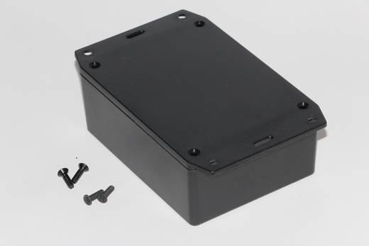 Univerzális műszerdoboz ABS, fekete 110 x 82 x 44 Hammond Electronics 1591XXSFLBK 1 db