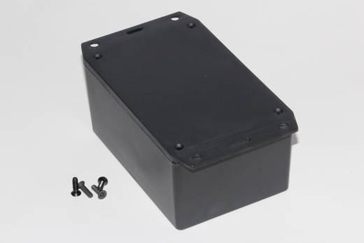 Univerzális műszerdoboz ABS, fekete 123 x 83 x 60 Hammond Electronics 1591XXTFLBK 1 db