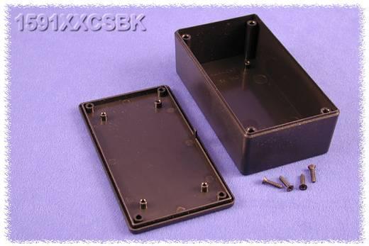 Univerzális műszerdoboz ABS, fekete 121 x 66 x 41 Hammond Electronics 1591XXCSBK 1 db