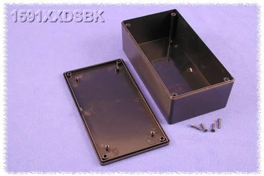 Univerzális műszerdoboz ABS, fekete 152 x 82 x 51 Hammond Electronics 1591XXDSBK 1 db