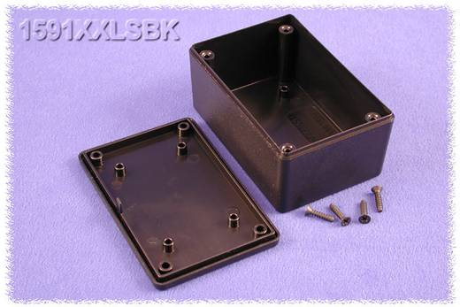 Univerzális műszerdoboz ABS, fekete 110 x 82 x 44 Hammond Electronics 1591XXSSBK 1 db