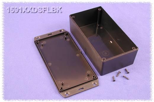Univerzális műszerdoboz ABS, fekete 152 x 82 x 51 Hammond Electronics 1591XXDSFLBK 1 db