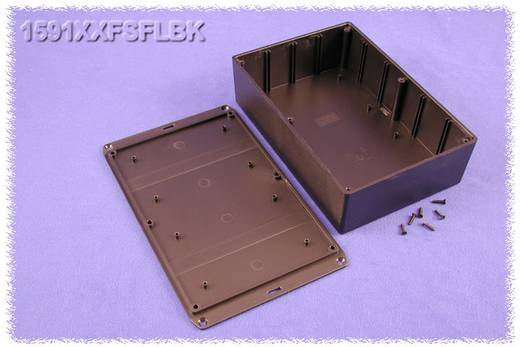 Univerzális műszerdoboz ABS, fekete 121 x 94 x 34 Hammond Electronics 1591XXGSFLBK 1 db