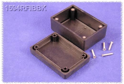 Hammond Electronics műanyag doboz, 1594RFI sorozat 1594RFIBBK ABS (lángálló) (H x Sz x Ma) 81 x 56 x 40 mm, fekete