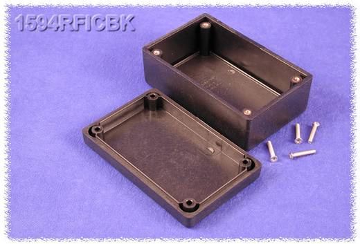 Hammond Electronics műanyag doboz, 1594RFI sorozat 1594RFICBK ABS (lángálló) (H x Sz x Ma) 105 x 66 x 45 mm, fekete