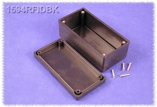 Hammond Electronics műanyag doboz, 1594RFI sorozat 1594RFIDBK ABS (lángálló) (H x Sz x Ma) 131 x 66 x 55 mm, fekete