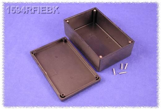 Hammond Electronics műanyag doboz, 1594RFI sorozat 1594RFIEBK ABS (lángálló) (H x Sz x Ma) 167 x 107 x 65 mm, fekete