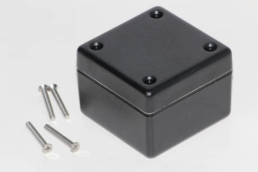 Univerzális műszerdoboz ABS, fekete 56 x 56 x 40 Hammond Electronics 1594AWBK 1 db