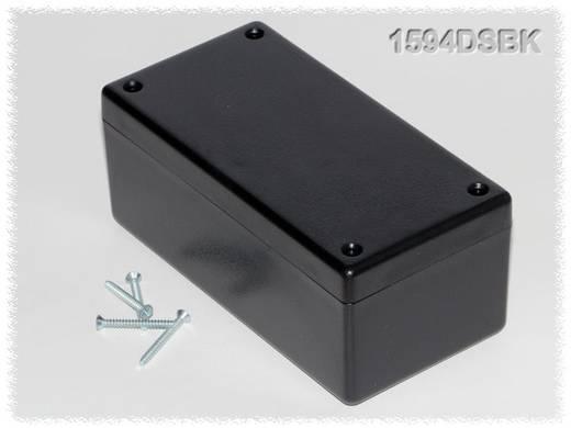 Univerzális műszerdoboz ABS, fekete 131 x 66 x 55 Hammond Electronics 1594DSBK 1 db