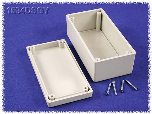 Univerzális műszerdoboz ABS, szürke 131 x 66 x 55 Hammond Electronics 1594DSGY 1 db