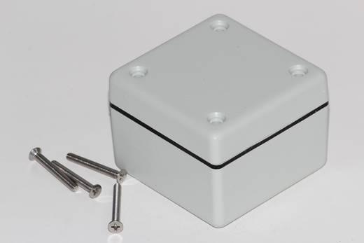Univerzális műszerdoboz ABS, szürke 56 x 56 x 40 Hammond Electronics 1594AWGY 1 db
