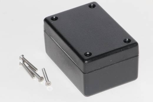 Univerzális műszerdoboz ABS, fekete 81 x 56 x 40 Hammond Electronics 1594BWBK 1 db