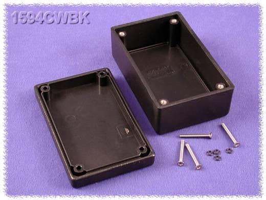 Univerzális műszerdoboz ABS, fekete 105 x 66 x 45 Hammond Electronics 1594CWBK 1 db