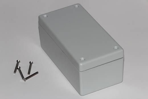 Hammond Electronics műanyag doboz, 1594W sorozat 1594DWGY ABS (lángálló) (H x Sz x Ma) 131 x 66 x 55 mm, szürke