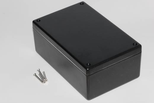Hammond Electronics műanyag doboz, 1594W sorozat 1594EWBK ABS (lángálló) (H x Sz x Ma) 167 x 107 x 65 mm, fekete