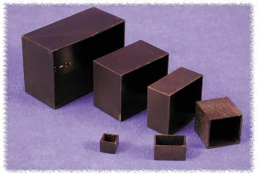 Öntvény műszerdoboz ABS, fekete 75 x 75 x 40 Hammond Electronics 1596B114 1 db