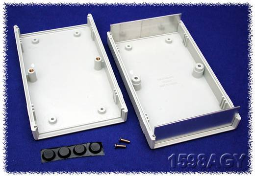 Univerzális műszerház Hammond Electronics 1598AGY ABS (lángálló) (H x Sz x Ma) 157 x 94 x 36 mm, szürke