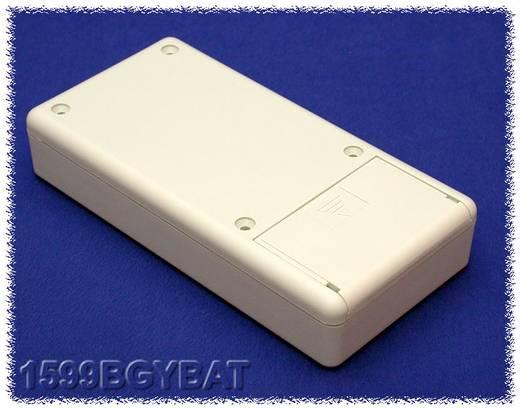 Kézi műszerdoboz ABS, szürke 130 x 65 x 25 mm, Hammond Electronics 1599BGYBAT,