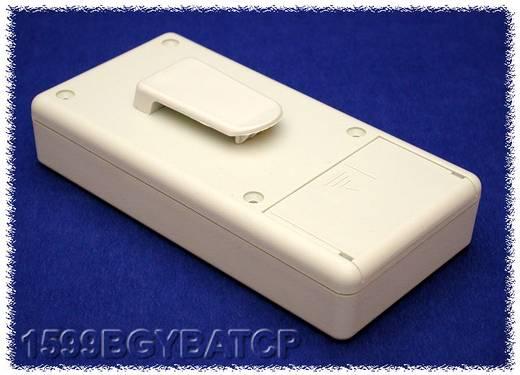 Kézi műszerdoboz ABS, szürke 130 x 65 x 25 Hammond Electronics 1599BGYBATCP, 1db