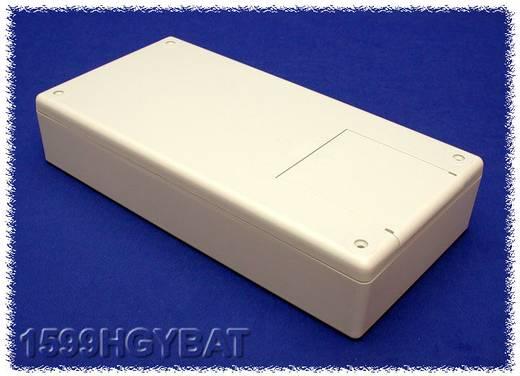 Kézi műszerdoboz ABS, szürke 220 x 110 x 44 Hammond Electronics 1599HGY, 1db