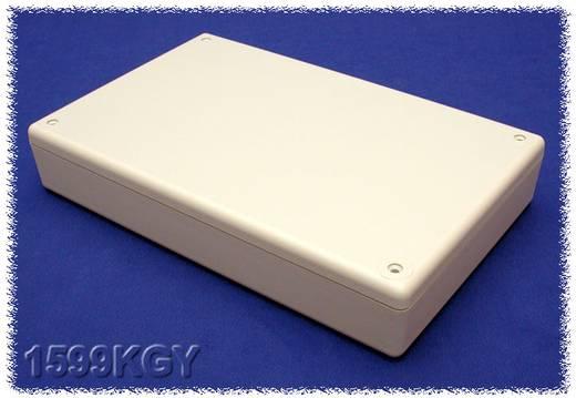 Kézi műszerdoboz ABS, szürke 220 x 140 x 40 mm, Hammond Electronics 1599KGY,