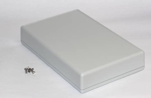 Kézi műszerdoboz ABS, szürke 220 x 140 x 40 mm, Hammond Electronics 1599KGYBAT,