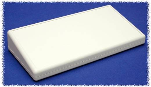 Kézi műszerdoboz ABS, szürke 220 x 110 x 40/19 Hammond Electronics 1599HSTSGY, 1db