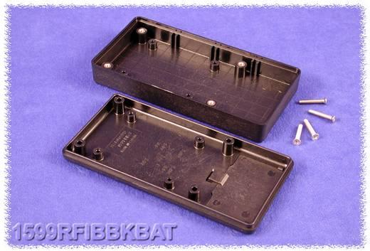 Kézi műszerdoboz ABS fekete 130 x 65 x 25 Hammond Electronics 1599RFIBBKBAT, 1db