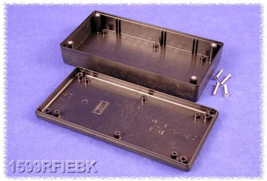 Kézi műszerdoboz ABS fekete 170 x 85 x 34 Hammond Electronics 1599RFIEBK, 1db