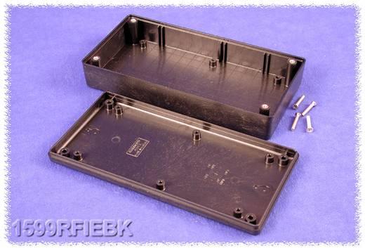 Kézi műszerdoboz ABS fekete 170 x 85 x 34 mm, Hammond Electronics 1599RFIEBK,