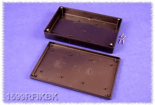 Kézi műszerdoboz ABS fekete 220 x 140 x 40 mm, Hammond Electronics 1599RFIKBK,