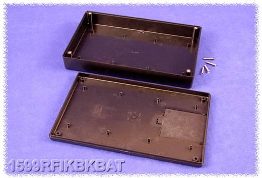 Kézi műszerdoboz ABS fekete 220 x 140 x 40 Hammond Electronics 1599RFIKBKBAT, 1db