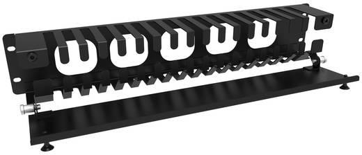 Zsanéros kábelrendező 483 x 89 x 76 mm, Hammond Electronics PCMDS19003BK1