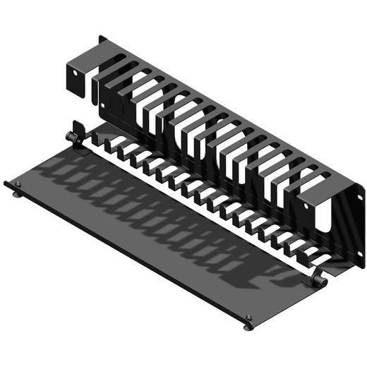 Zsanéros kábelrendező 483 x 133 x 76 mm, Hammond Electronics PCMDS19005BK1