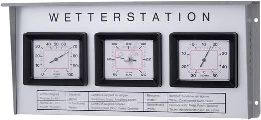 Analóg időjárásjelző állomás TFA 20.1019 nemesacél külsővel