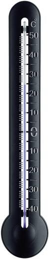 Bel- és kültéri, hagyományos analóg hőmérő, fekete (Sz x Ma x Mé) 54 x 287 x 23 mm, TFA