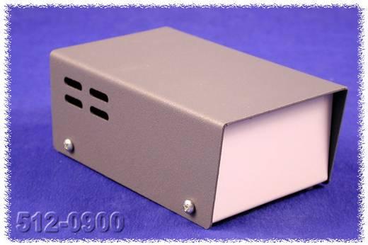 Hammond Electronics fém ház 511-es sorozat 512-0900 acél (H x Sz x Ma) 124 x 76 x 51 mm, szürke