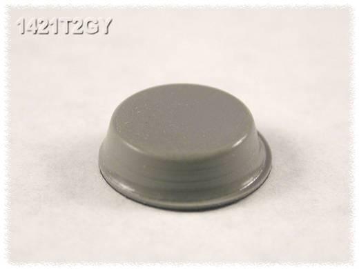 Öntapadós gumi műszerláb, kerek Ø 12,7 x 3,5 mm, szürke, 24 db, Hammond Electronics 1421T2GY