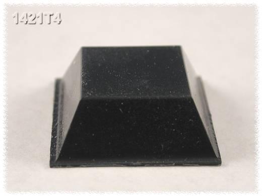 Hammond Electronics Gumi lábak, 1421-es sorozat 1421T4 (Ø x Ma) 20.5 mm x 7.6 mm gumírozott Fekete