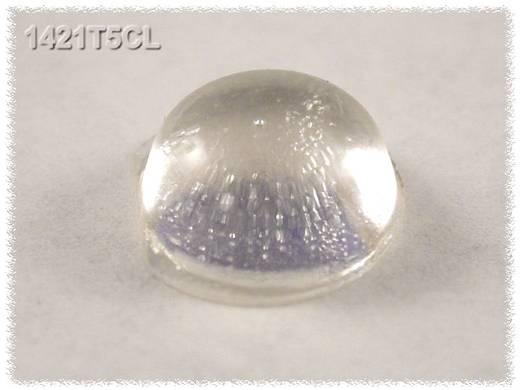 Öntapadós gumi műszerláb, kerek Ø 12,1 x 5 mm, natúr, 24 db, Hammond Electronics 1421T5CL