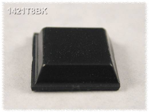 Hammond Electronics Gumi lábak, 1421-es sorozat 1421T8BK (Ø x Ma) 12.1 mm x 3.1 mm Gumírozott Fekete