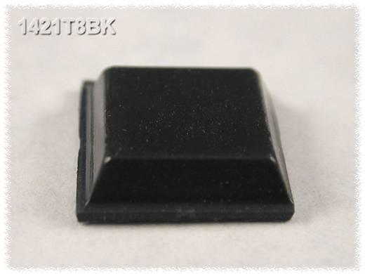 Öntapadós gumi műszerláb 12,1 x 3,1 mm, fekete, 24 db, Hammond Electronics 1421T8BK