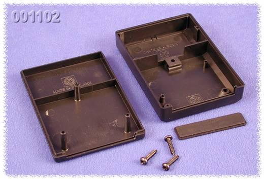 Kézi műszerdoboz ABS fekete 85 x 60 x 22 Hammond Electronics 001102, 1db