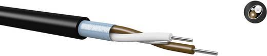 H2Yv0(St)H huzalozó vezeték, árnyékolt 2 x 0.5/0.85 mm fekete méteráru Kabeltronik