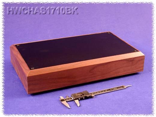 Hammond Electronics alumínium doboz sorozat HWCHAS HWCHAS1710BK alumínium (H x Sz x Ma) 432 x 254 x 76 mm, fekete