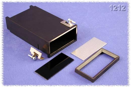 Hammond Electronics szerelőlap dobozok, 1212-es sorozat 1212 ABS (lángálló) (H x Sz x Ma) 120 x 72 x 36 mm, fekete