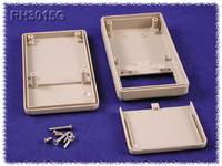 Kézi műszerdoboz ABS fekete 130 x 68 x 25 mm, Hammond Electronics RH3001BK, Hammond Electronics