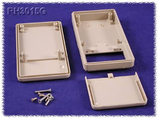 Kézi műszerdoboz ABS fekete 160 x 85 x 30 mm, Hammond Electronics RH3051BK,