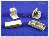 Ipari műszerdoboz ABS, szürke 30 x 10 x 10 Hammond Electronics FT-01 1 db Hammond Electronics
