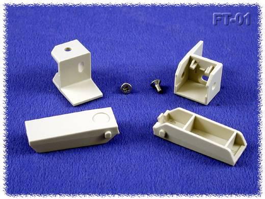 Ipari műszerdoboz ABS, szürke 30 x 10 x 10 Hammond Electronics FT-01 1 db